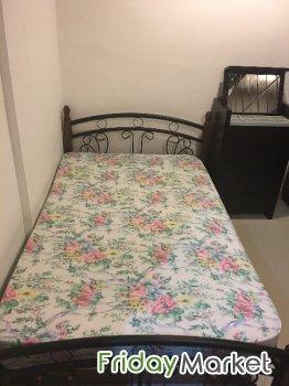 For sale twin bed mattress & dresser in Kuwait FridayMarket