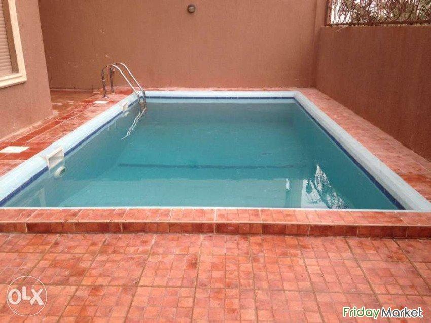 Superior private duplex villa with pool for rent in egaila