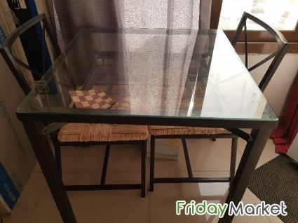 Dining Table With Two Chairs For Sale Abbasiya Kuwait