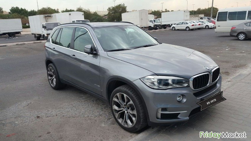BMW X5- XDrive 35i 2015 Model In Excellent Condition Salmiya Kuwait