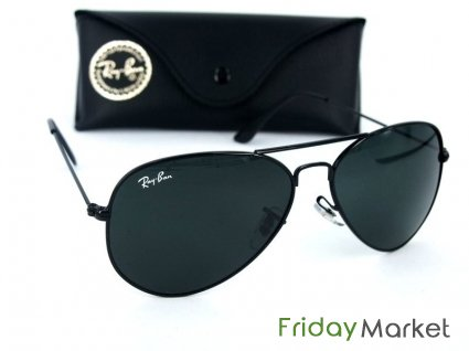 ee81346c1a0e4 RAY BAN AVIATOR ORIGINAL BLACK in Kuwait - FridayMarket