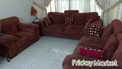 Sofa Set (3+2+1) For Sell Abu Halifa Kuwait