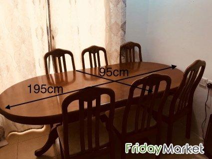 Dining Sofa Set Office Tables For Sale Mahbula Kuwait