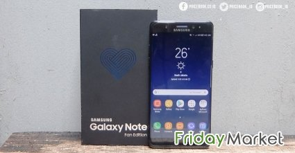 Samsung note FE brand new only 20 days used in Kuwait