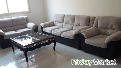 Rarely Used Sofa Set With Matching Dining Table Extendable For Sale Maidan Hawally Kuwait