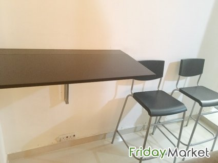 Miraculous Ikea Folding Table And Chair 1 Table 2 High Chairs In Caraccident5 Cool Chair Designs And Ideas Caraccident5Info