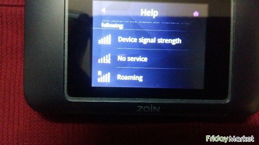 Router WiFi Touch LTE Cat 6 Zain Huawei E5787 Unlock in