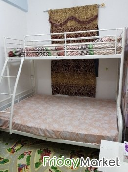 Enjoyable Ikea Double Decker Bunk Bed For Sale In Kuwait Fridaymarket Download Free Architecture Designs Ferenbritishbridgeorg