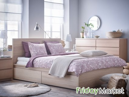 IKEA Bed Frame With Drawers For Sale Salmiya Kuwait