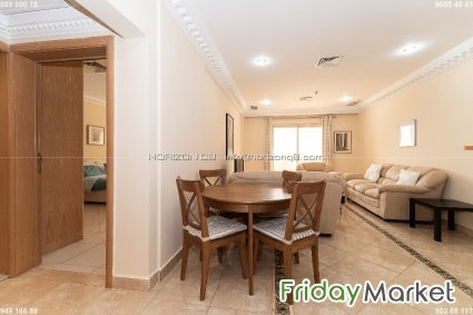 Mahboula - Spacious, Furnished, 1 Bedroom Apartment W/pool Mahbula Kuwait