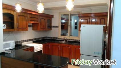 Peaceful & Lovely Furnished 1 Bedroom Apartment With Pool In Mahboula. Mahbula Kuwait