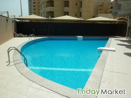 fully furnished flat in sea side in fintas in Kuwait - FridayMarket