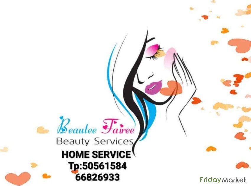 Beauty Salon Home Service in Kuwait - FridayMarket