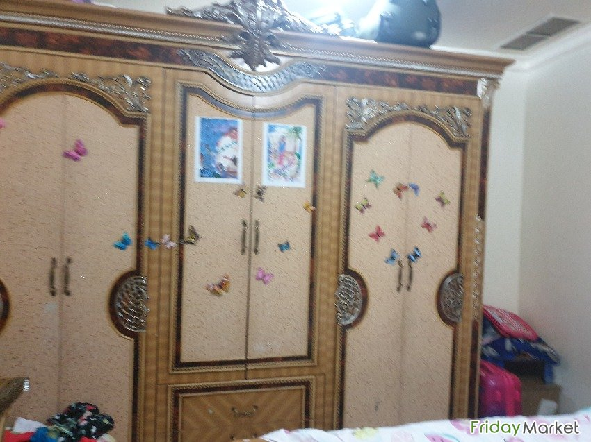 Well Conditioned Bedroom Set For Sale Fahaheel Kuwait
