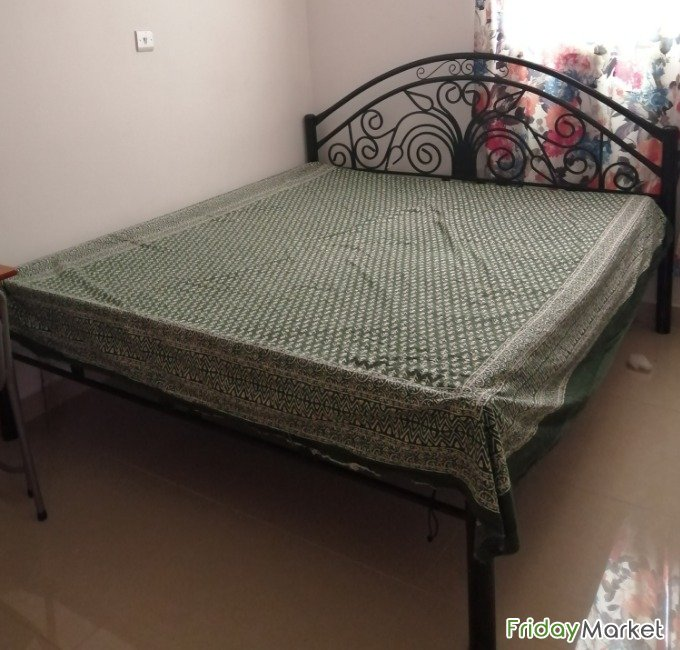 King Size Metal Bed For Sale With Mattress Khaitan Kuwait