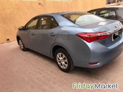 Toyota Corolla 2016 Xli Excellent Condition Salmiya Kuwait