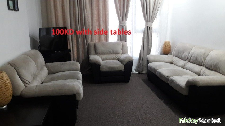 Sofa Set With Side Tables And Dinning Table , Bed Room Set For Sale Salmiya Kuwait