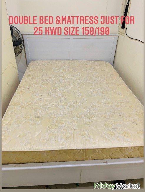 Bed And Mattress Just For 25 Kwd Fahaheel Kuwait