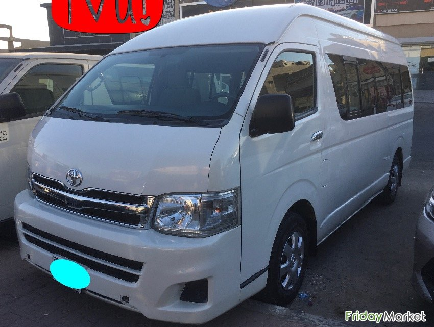 Bus Toyota Hiace 2013 High Roof Farwaniya Kuwait