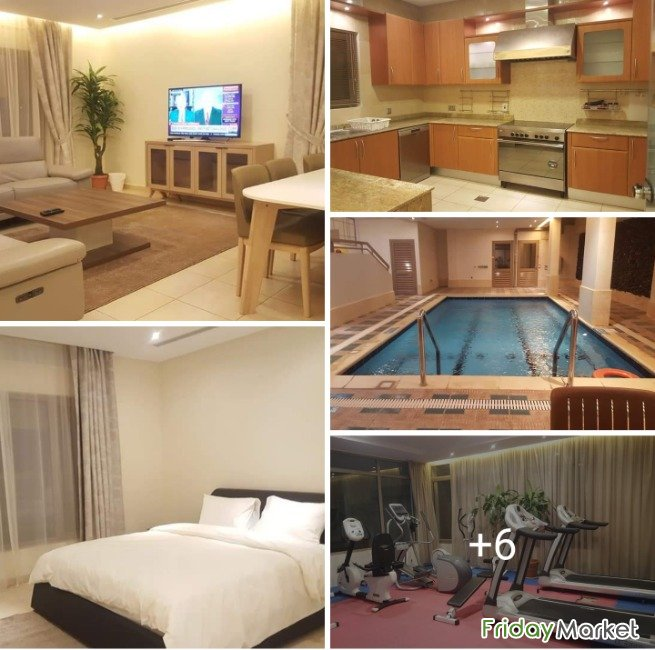 Bayan - Ultra Deluxe Fully Furnished 3BR With Maid Room Bayan Kuwait