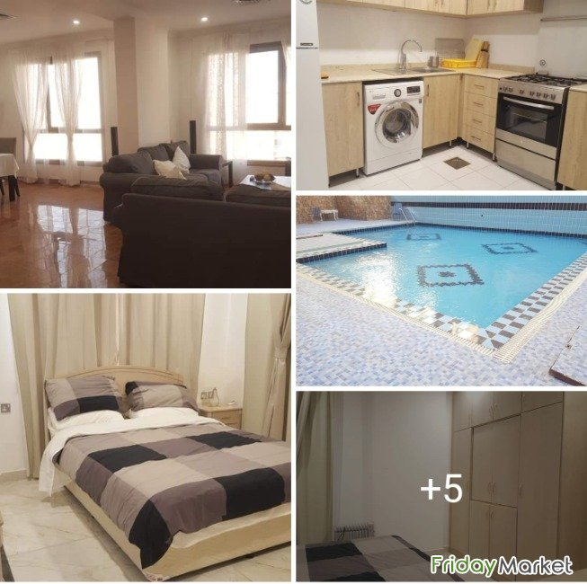 Salmiya - Sea View Fully Furnished 1 BR Apartment Salmiya Kuwait