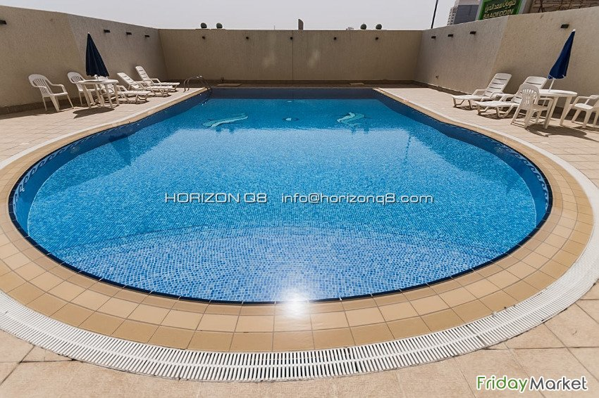 Salmiya - Unfurnished, Three Bedroom Apartments W/pool Salmiya Kuwait